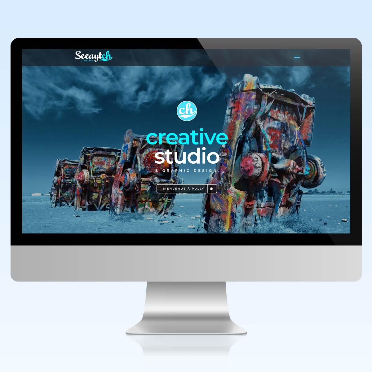 creation de sites internet, Vevey, Pully, Lausanne - Seeaytch Creative