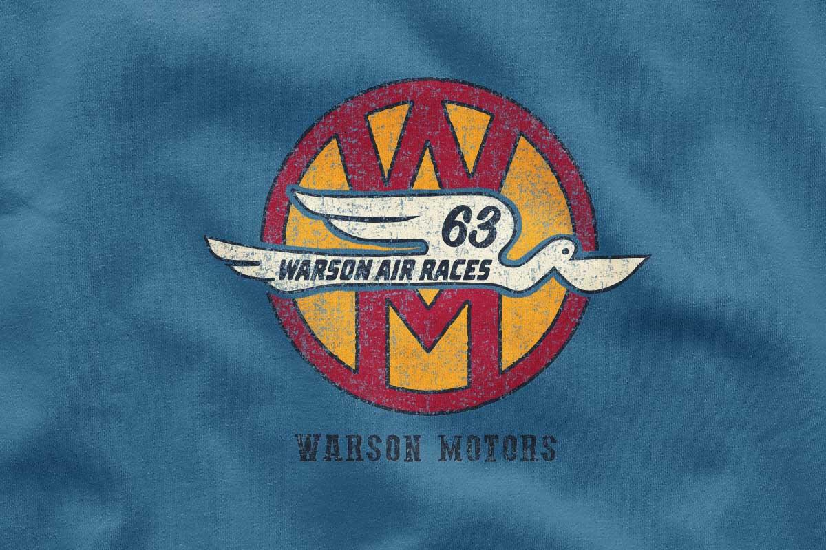 Création de T-shirt pour Warson Motors par Seeaytch Creative