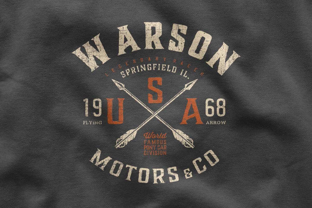T-shirt Warson Motors springfield by Seeaytch Creative